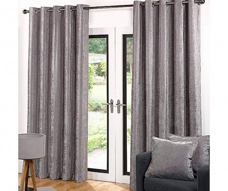 Velvet Grey 2 db Sötétítő 117x137 cm