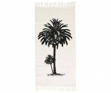 Preproga Tropical Vintage Natural Black 70x140 cm