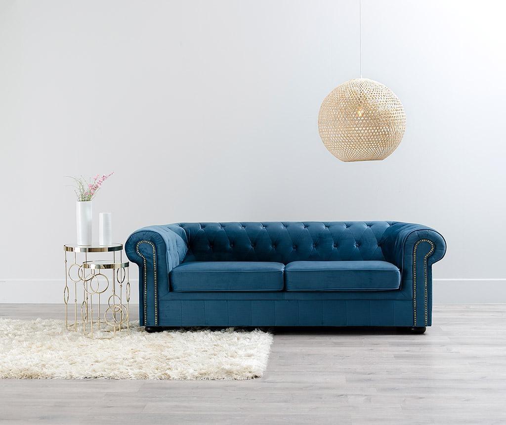 Orchid Dark Blue Háromszemélyes kanapé