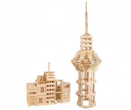 Set de construit 250 piese City Block