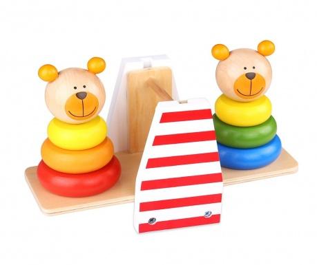 Igračka piramida Bear Balance