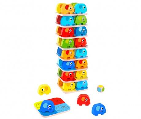 Joc de indemanare 46 piese Elephant Game