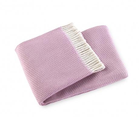 Priročna odeja Ruby Mauve Pink 140x180 cm