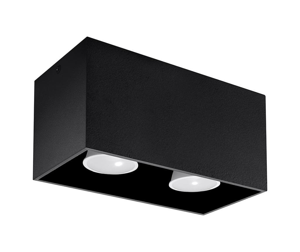 Stropna svjetiljka Geo Two Black