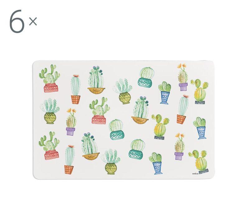 Set 6 individualuri Cactus 28.5x43 cm