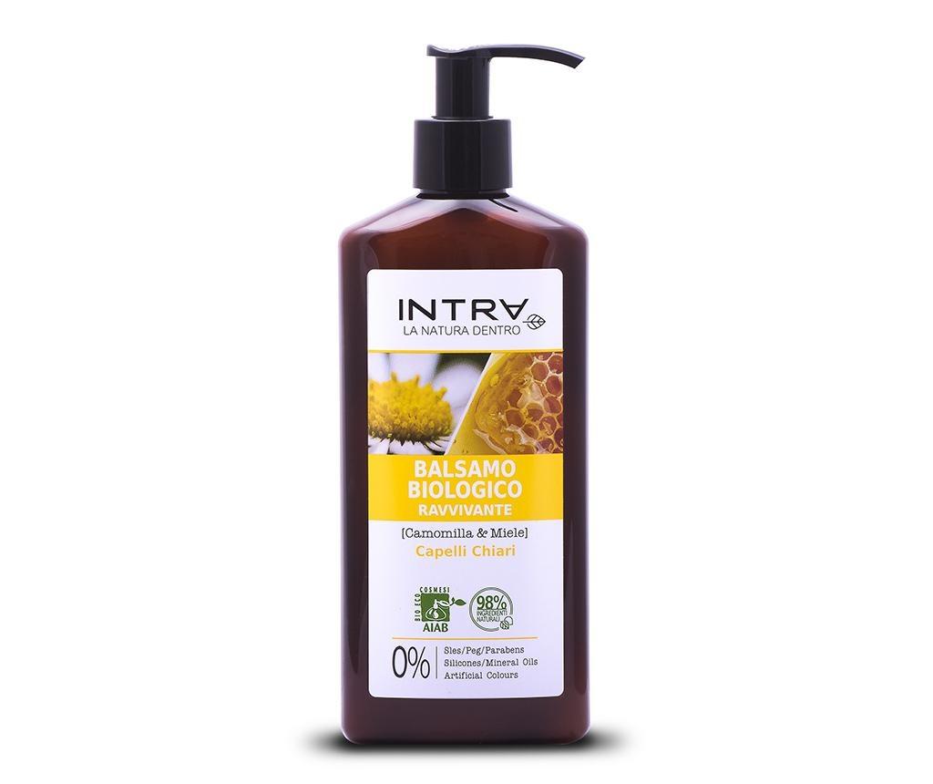 Balsam organic pentru par blond Revitalizing Chamomile&Honey 250 ml