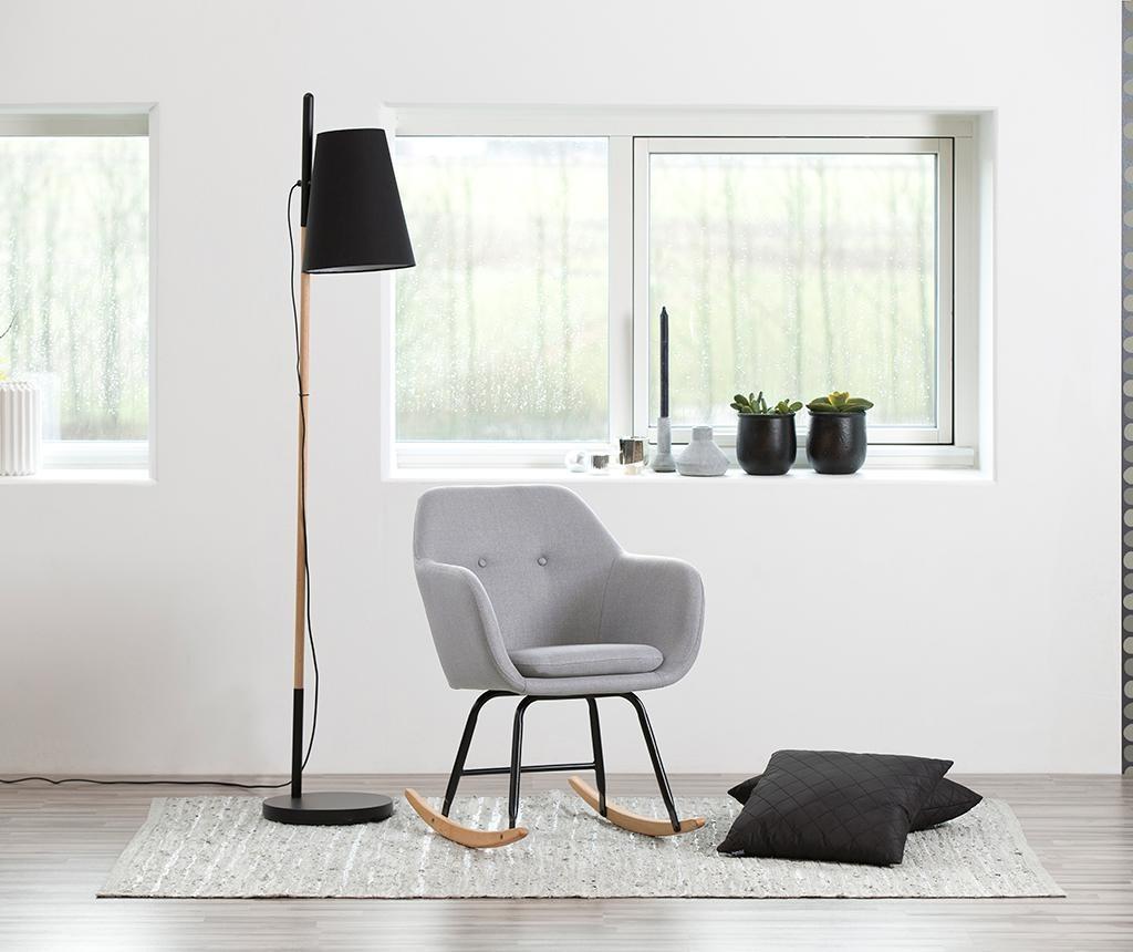 Stolica za ljuljanje Emilia Plain Light Grey