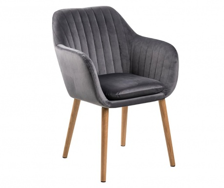 Židle Emilia Grey