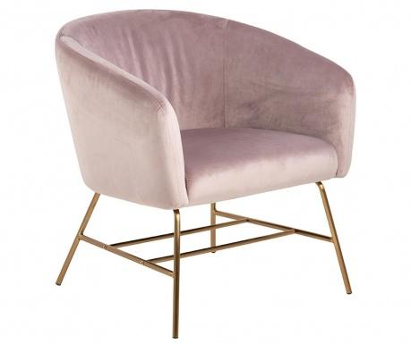 Stolica Ramsey Gold Pink