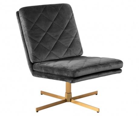 Otočná stolička Carrera Dark Grey
