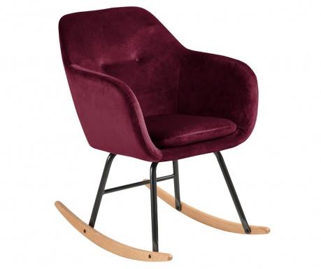 Houpací židle Emilia Burgundy