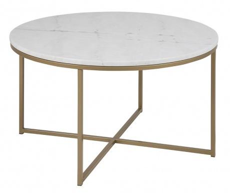 Stolić za kavu Alisma Round White
