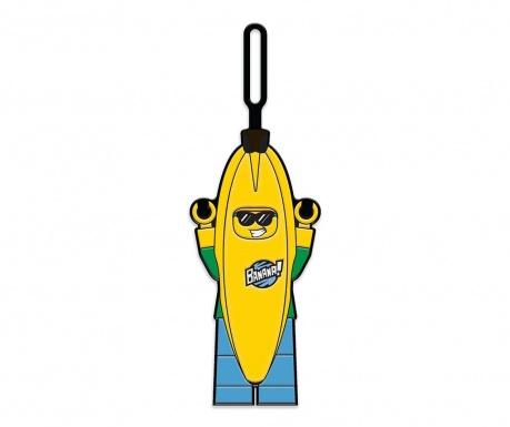 Oznaka za prtljago Lego Banana Guy