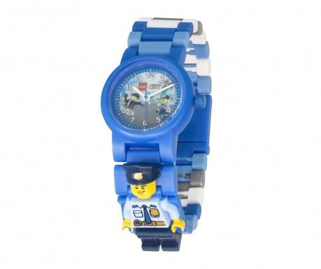 Ceas de mana copii Lego City Police Officer