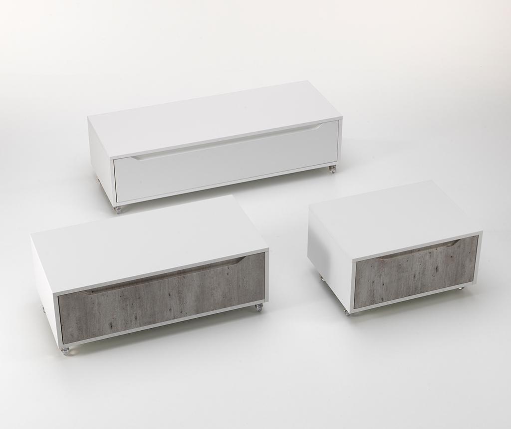 Kopalniški predalnik Belsk White