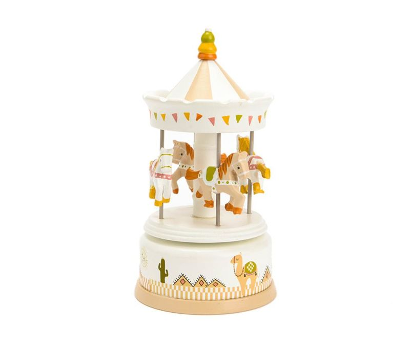 Glasbena dekoracija Dessert Carrousel