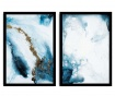 Set 2 slike Abstract Marble 36x51 cm