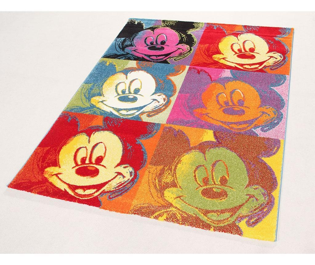 Preproga Disney Mickey Pop Art Patch 133x190 cm