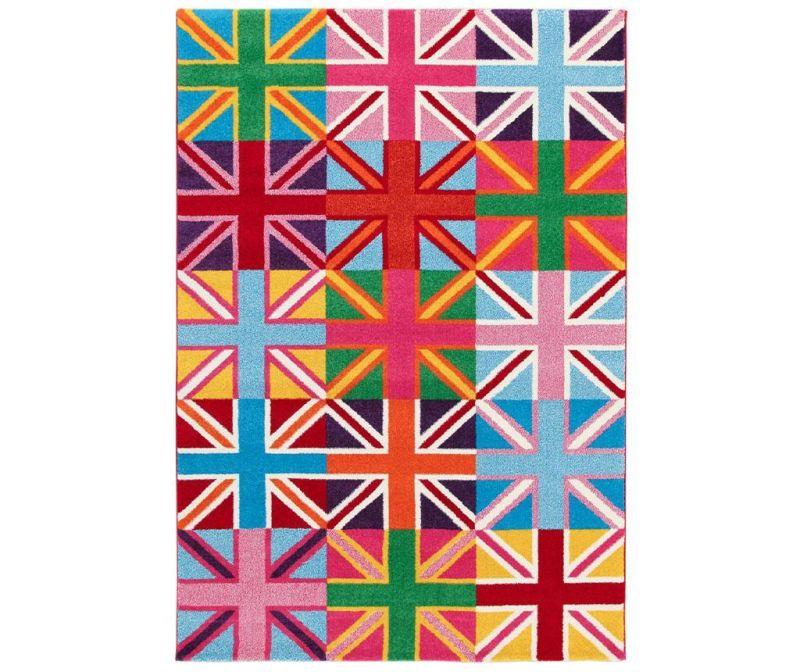 Covor Metropolitan UK Flags She 133x190 cm