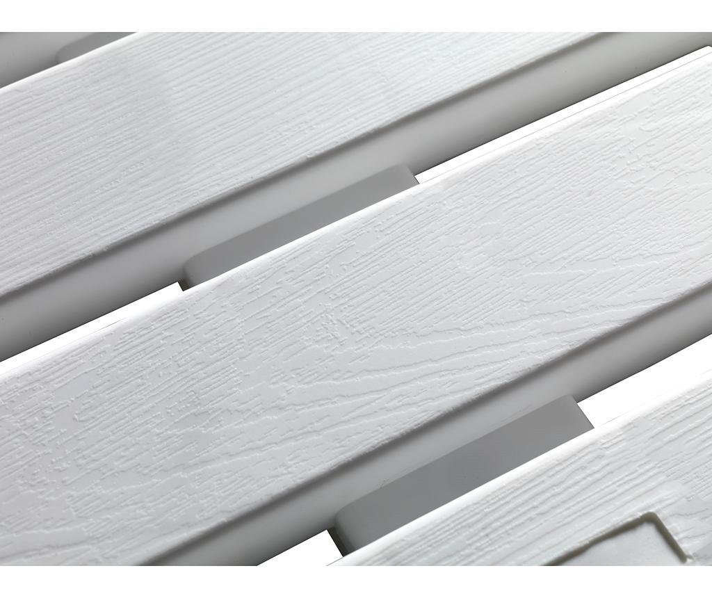Podloga za prho Duck White 55x55 cm
