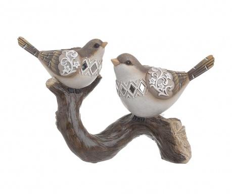 Dekoracja Birds On Trunk Large