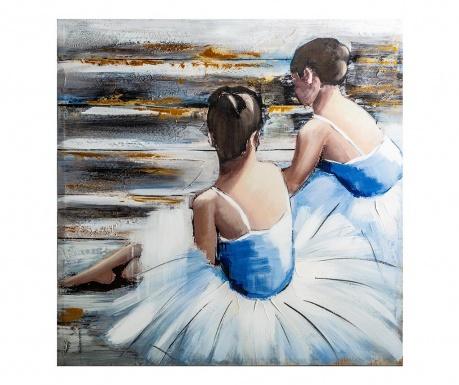 Картина Ballet 80x80 см