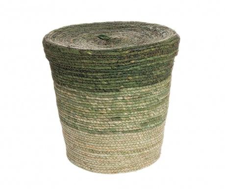 Košara s pokrovom Fade Green