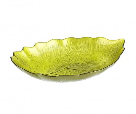 Dekoračný podnos Leaf Green
