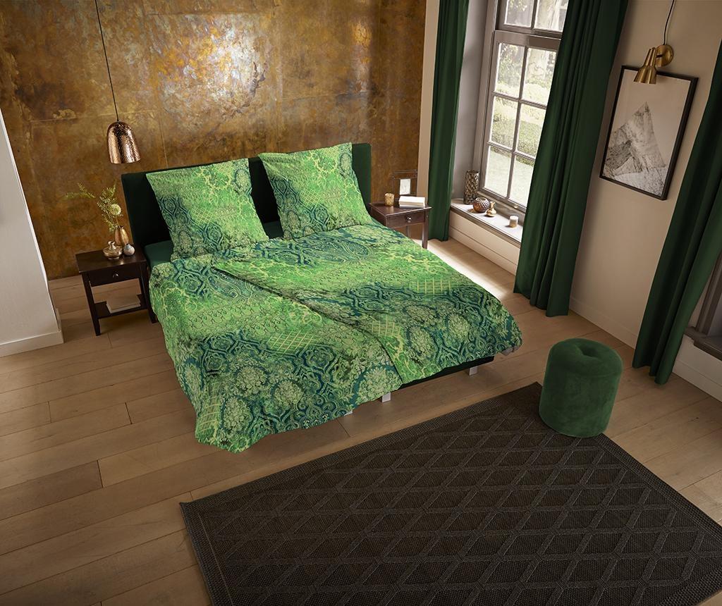 Veronique Green King Szatén ágynemű