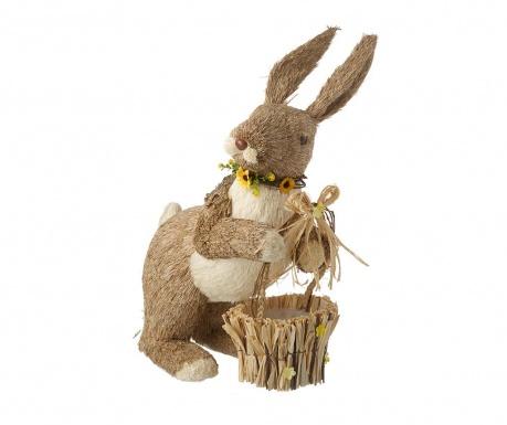 Decoratiune Rabbit Basket