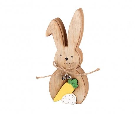 Decoratiune Wooden Rabbit