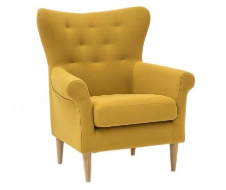 Fotelja Amelie Cotone Yellow