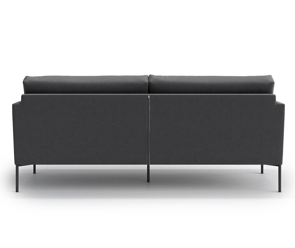 Blanca Monolith Grey Háromszemélyes kanapé