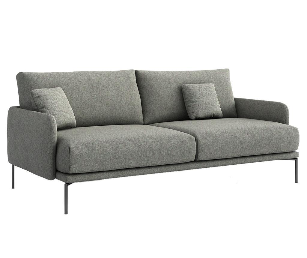Ines Gusto Grey Háromszemélyes kanapé