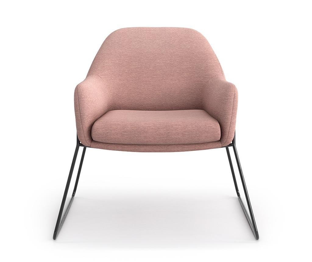Fotelj Vilma Tesla Pink