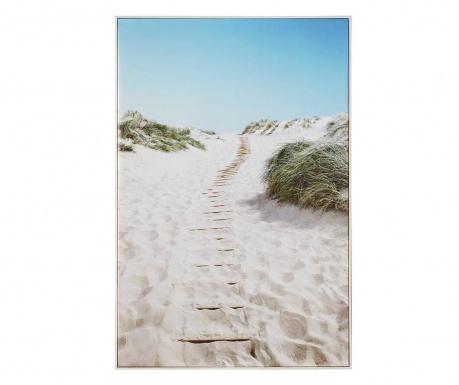 Obraz Quiet Beach 80x120 cm