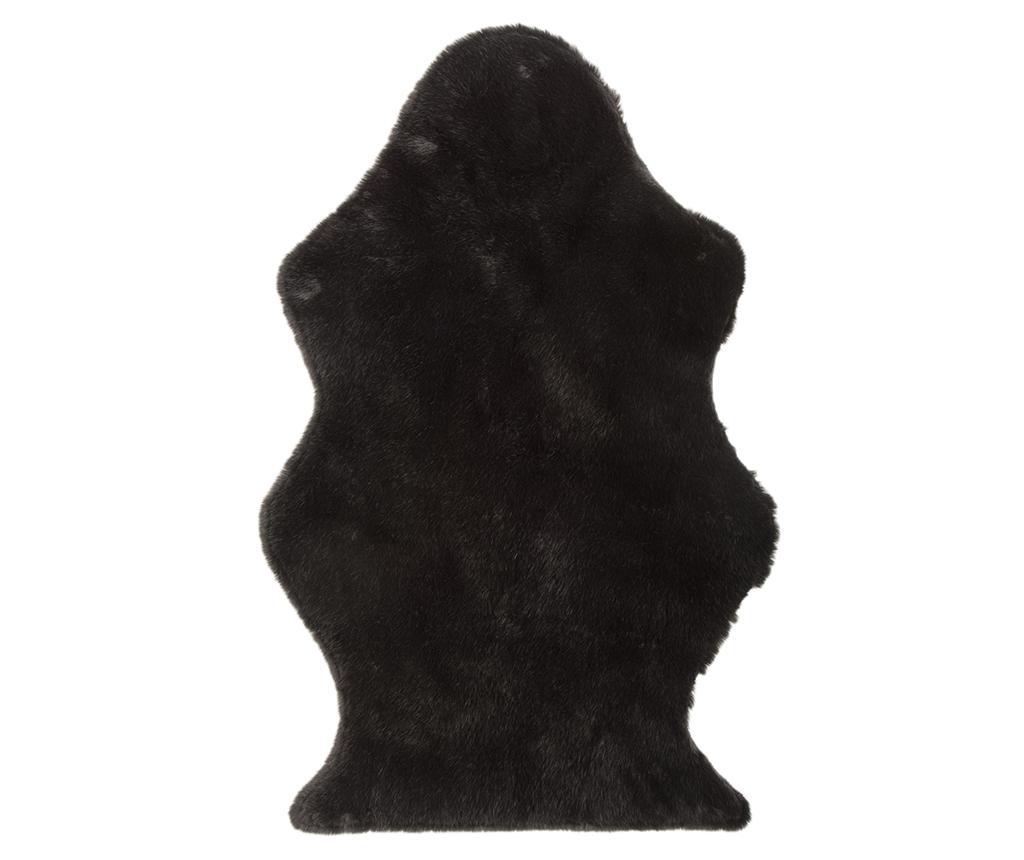 Covor Sheena Black 60x95 cm - J-line, Negru