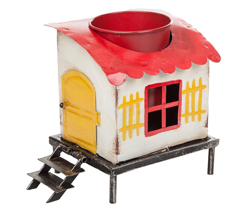 Suport pentru ghiveci Vintage House - Creaciones Meng, Rosu