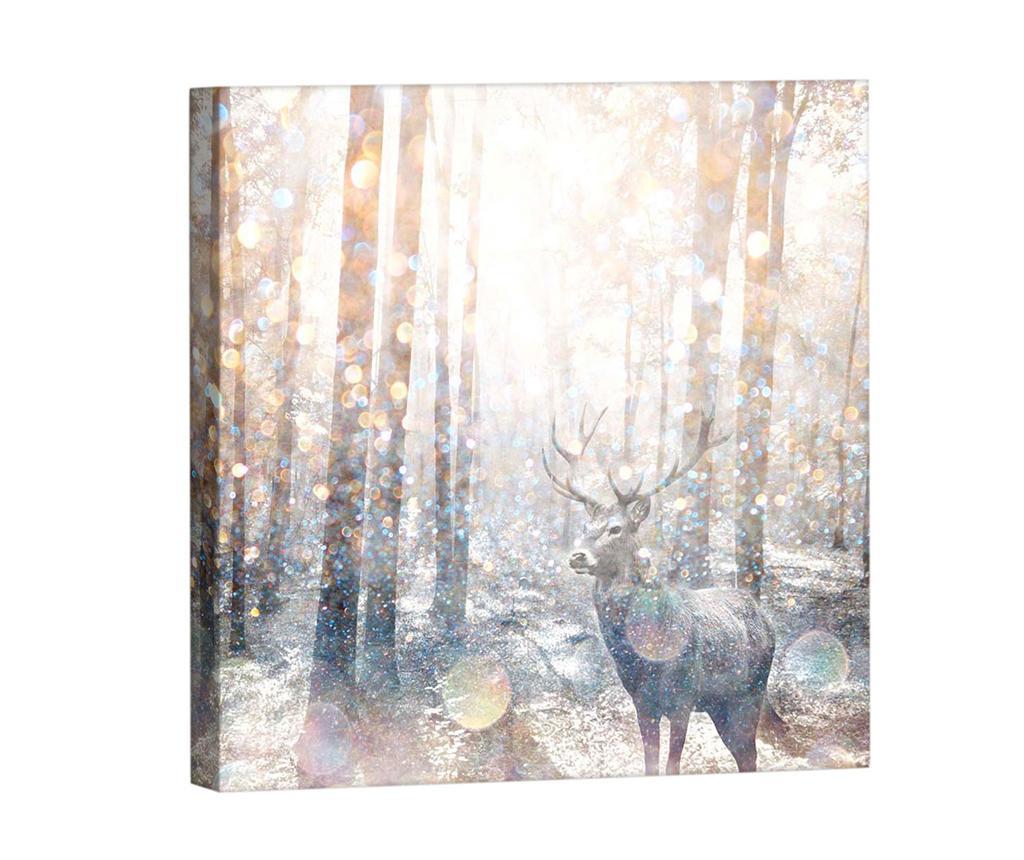 Tablou Forest 33x33 cm
