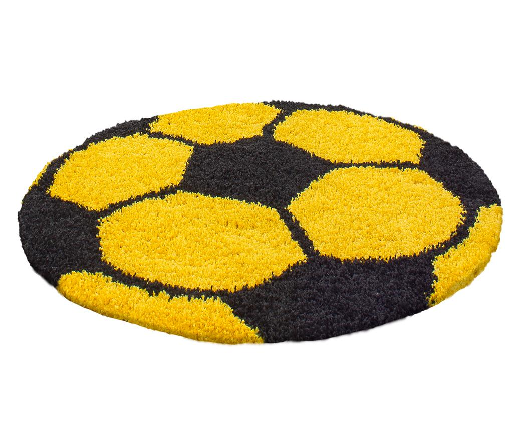 Covor Fun Round Yellow 100 cm - Ayyildiz Carpet, Galben & Auriu