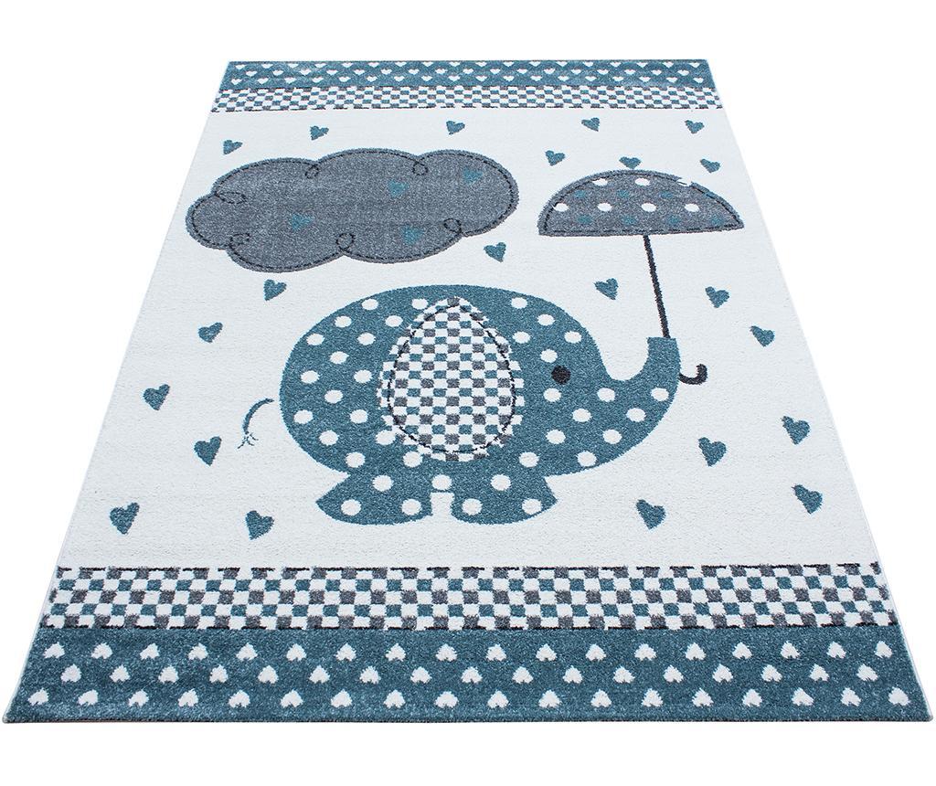 Covor Elephant Blue 80x150 cm - Ayyildiz Carpet, Albastru
