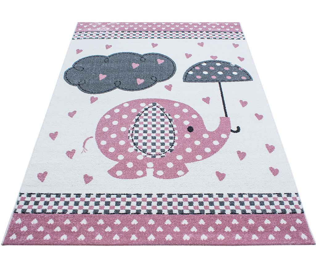 Covor Elephant Pink 160x230 cm - Ayyildiz Carpet, Roz