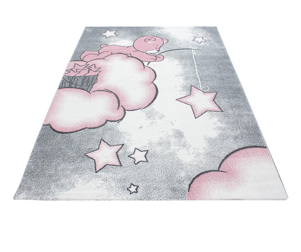 Covor Teddy Bear Pink 80x150 cm - Ayyildiz Carpet, Roz