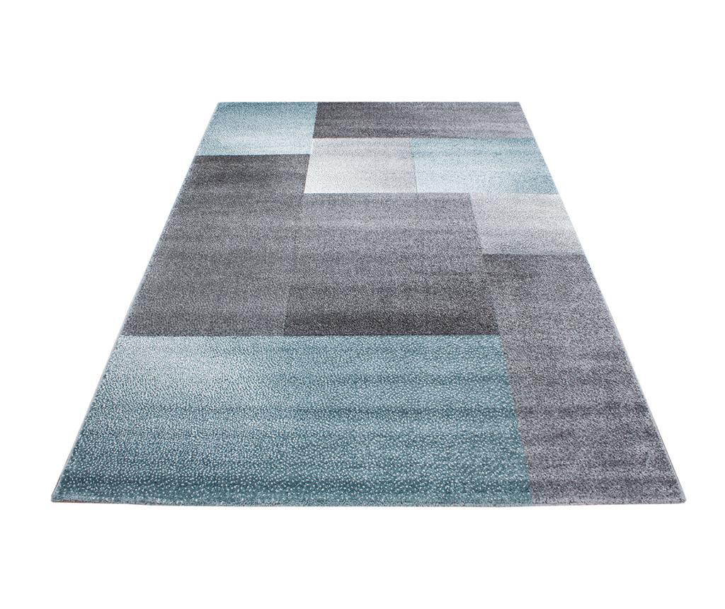 Covor Lucca Puzzle Blue 80x150 cm - Ayyildiz Carpet, Albastru