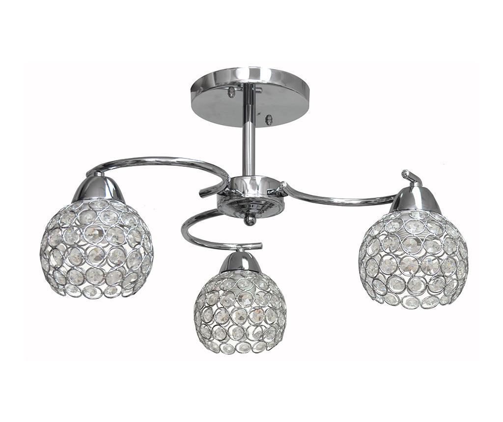 Lustra Doris Silver Three - Helam, Gri & Argintiu