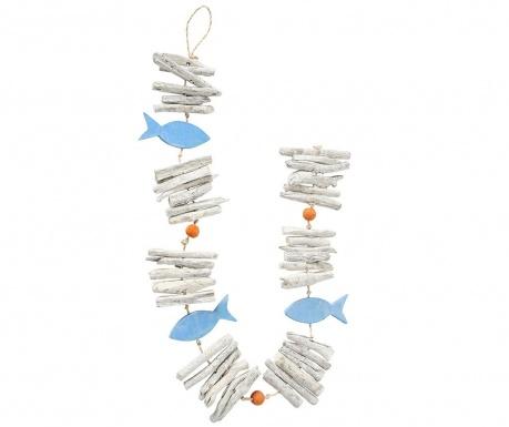 Fish Blue Felfüggeszthető dekoráció