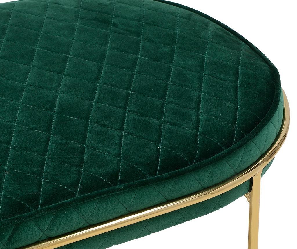 Bancheta Velvet Green