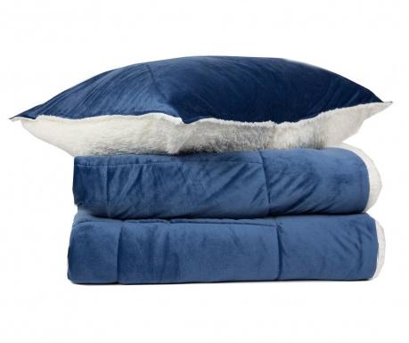 Zestaw na łóżko King Linosa Blue