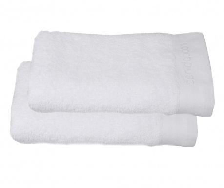 Set 2 kupaonska ručnika Tocador White 30x50 cm