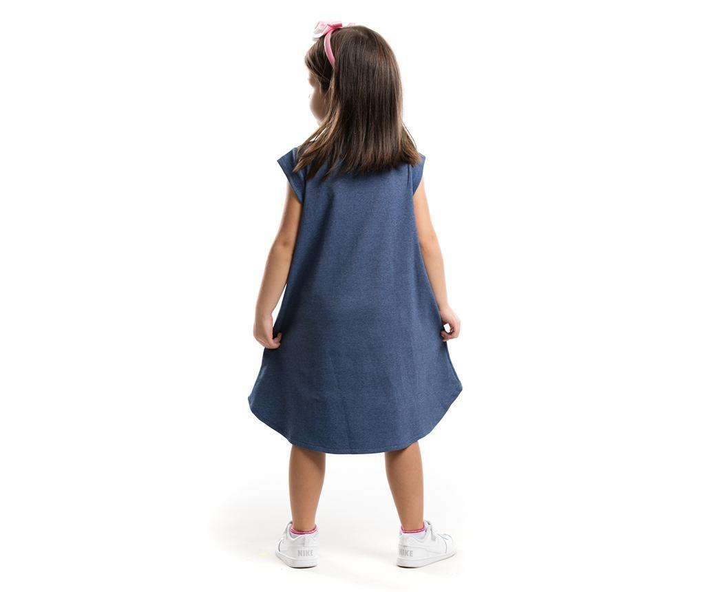 Otroški komplet - obleka in obroč za lase Pink Giraffe 7 years